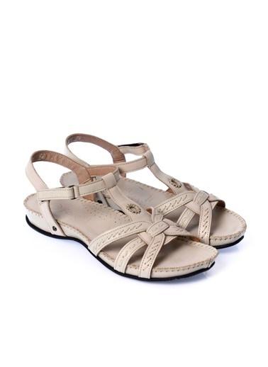 Forelli %100 Deri Sandalet Bej